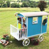 Carruaje de madera infantil Carry