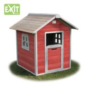 Casita de madera infantil Beach Red