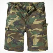COMBAT SHORTS woodland / Pantalon corto Ropa Militar