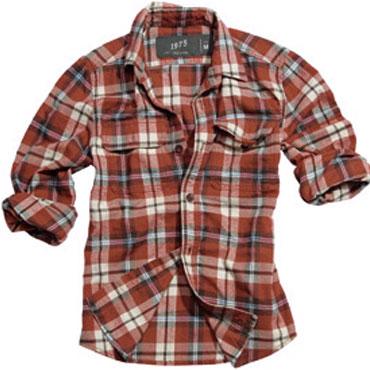 SURPLUS Wood Cutter Shirt red karo / Camisa red karo