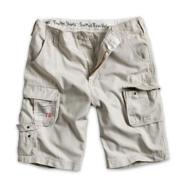 SURPLUS TROOPER SHORTS Off White / Pantalón corto