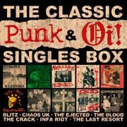 Portada de The Classic Punk & Oi! Singles Box