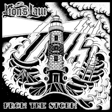 Portada del disco LION'S LAW From the storm LP