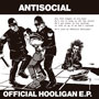 ANTISOCIAL Official Hooligan EP el diseño de la portada por Ramon Girones