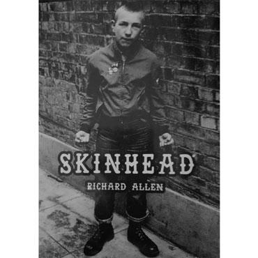 Portada del libro SKINHEAD de Richard Allen en castellano