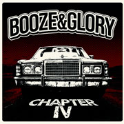 Portada del disco BOOZE AND GLORY Chapter IV LP