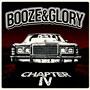 Diseño de portada del disco BOOZE AND GLORY Chapter IV LP por Ramón Gironés