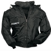 SECURITY BLOUSON Black / Negro