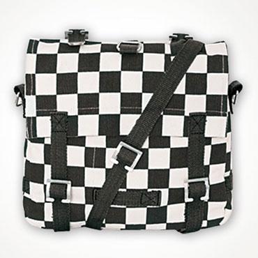 Surplus Cotton Bag Small White / Black Blanco / Negro