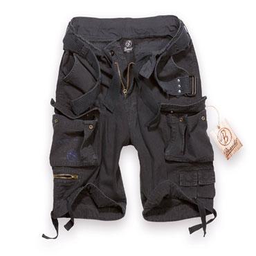 BRANDIT Gladiator Vintage Black Pantalones Cortos / Shorts