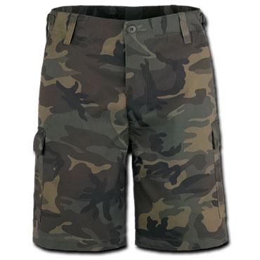 BRANDIT US Ranger Shorty Woodland/Camuflaje Pantalones Cortos / Shorts