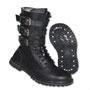 BRANDIT Gladiator Vintage Boots with buckle Black
