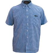 Shirt Tribal blue / Camisa de manga corta azul HOOLIGAN STREETWEAR