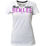 BENLEE FLORYS Ladies T-Shirt WHITE / camiseta