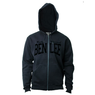 BENLEE Hooded Sweatjacket DANNY Anthracite