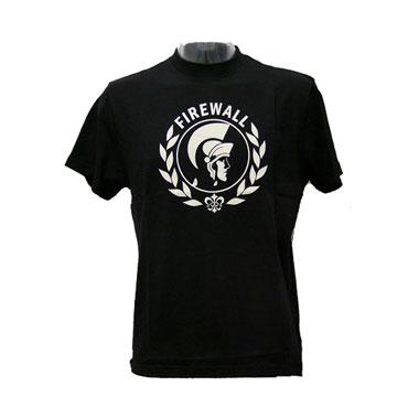 BENLEE FIREWALL Men Camiseta Negra T-Shirt