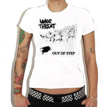 Minor Threat Out Of Step Shirt
