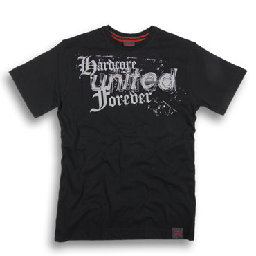 HARDCORE UNITED Forever T-shirt Black