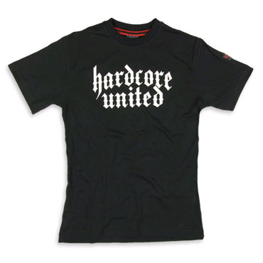 HARDCORE UNITED Slim Fit CLASSIC T-shirt Hardcore United Black