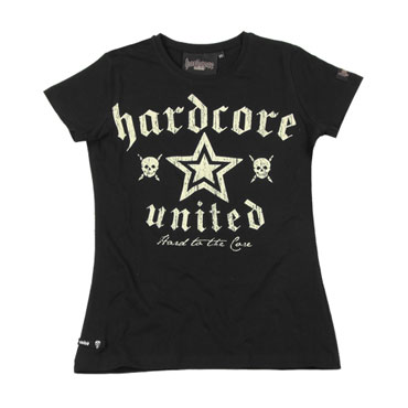 HARDCORE UNITED Corry GIRL T-shirt