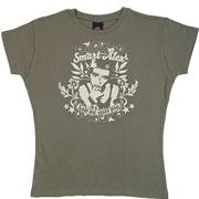 TS Smart olive / Camiseta de chica oliva