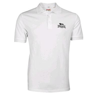 LONSDALE Poloshirt ACTON White 110010 - Lonsdale London