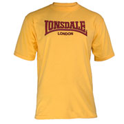 LONSDALE CLASSIC T-Shirt Yellow 110569 - Lonsdale London