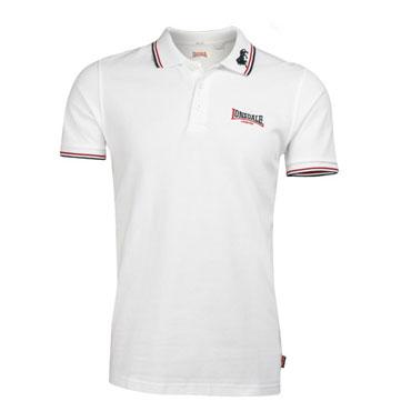 LONSDALE LION Poloshirt White 110629 - Lonsdale London