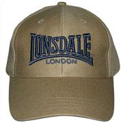 LONSDALE Baseball Cap 3D Sand - Lonsdale London