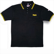LONSDALE Slim Fit Classic Polo LOXLEY Black - Lonsdale London