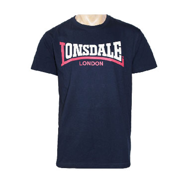 LONSDALE Camiseta TWO TONE Azul Marino - Lonsdale London