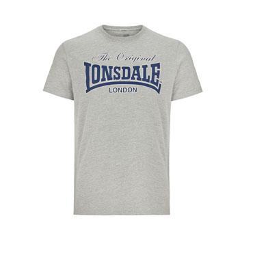 LONSDALE LYDD Men Regular fit T-shirt GREY- Lonsdale London