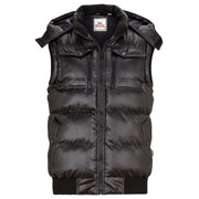 LONSDALE SEASALTER Chaleco negro