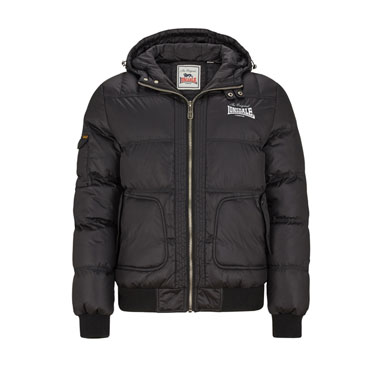 LONSDALE CHILHAM Hooded Winterjacket Chaqueta negra
