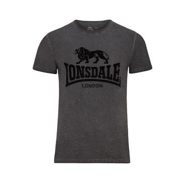 LONSDALE HARTLEY Men Slim Fit T-Shirt color Antracita