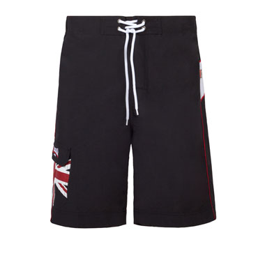 Bañador LONSDALE Men Beach Short DAWLISH Negro