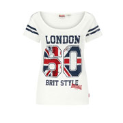 LONSDALE MINEHEAD Camiseta chica