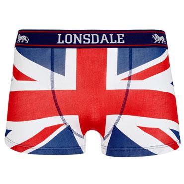 Imagen de los calzoncillos LONSDALE TISBURY UNION JACK Men Boxer shorts