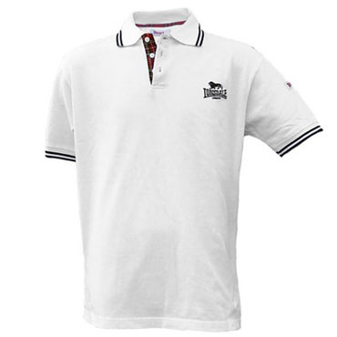 LONSDALE BEDFORD Short Sleeve Polo Blanco 117009 - Lonsdale London