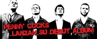 PENNYCOCKS, pura testosterona a ritmo de punkrock