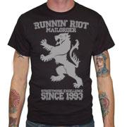RUNNIN RIOT Crest 1993 T-shirt / Camiseta Negra
