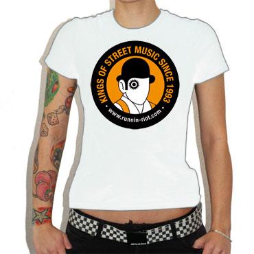 RUNNIN RIOT Clockwork Orange GIRL Camiseta chica GRATIS CON COMPRA SUPERIOR A 30 EUROS