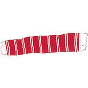 BARSCARF Bufanda Roja y Blanca / HOOLIGAN STREETWEAR