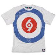 SPIRIT OF 69 - Giant Target T-Shirt White / Camiseta