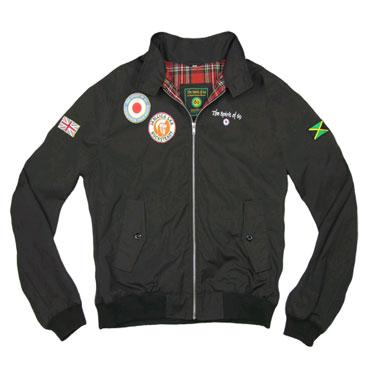 SPIRIT OF 69 - 69 Harrington Jacket Beat Black / Harrington Negra