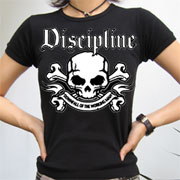 DISCIPLINE Downfall of the working man GIRL T-shirt / Camiseta chica