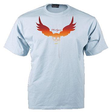 TS FLYER Camiseta Azul celeste / T-shirt HOOLIGAN STREETWEAR