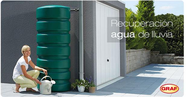Depósitos recogida agua de lluvia