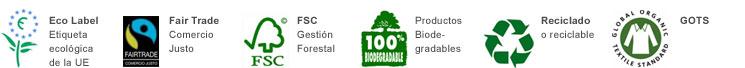 Logos certificación ecológica