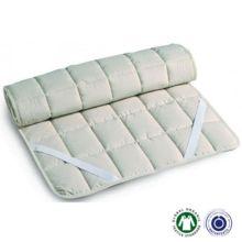 Topper de algodón con cintas elásticas Firenze